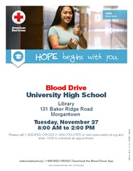 American Red Cross Blood Drive at UHS