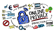 online privacy clipart